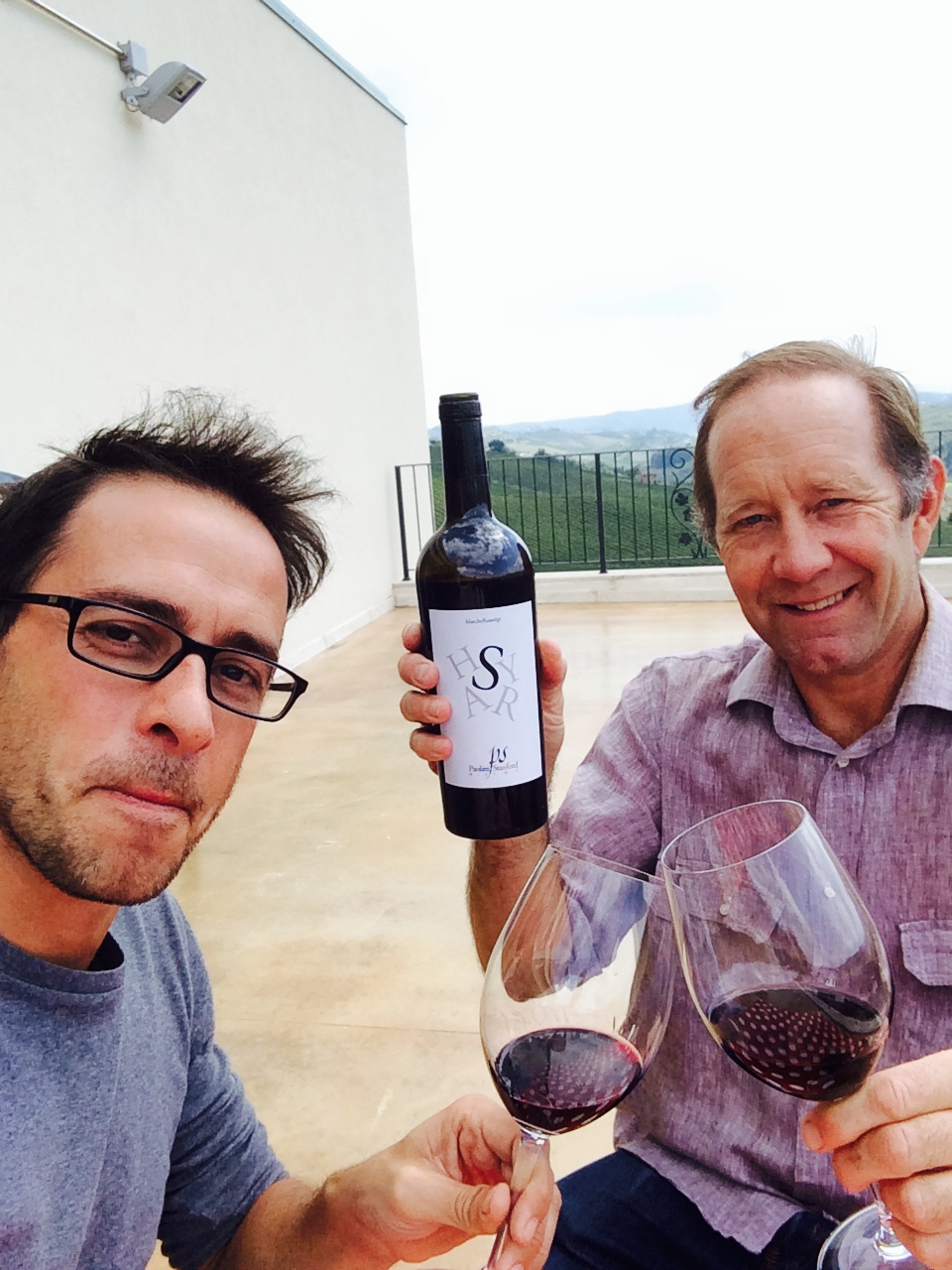 Raffaele Paolini e Dwight Stanford