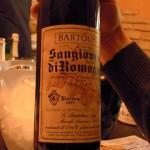 Etichetta storica Cantina Bartolini