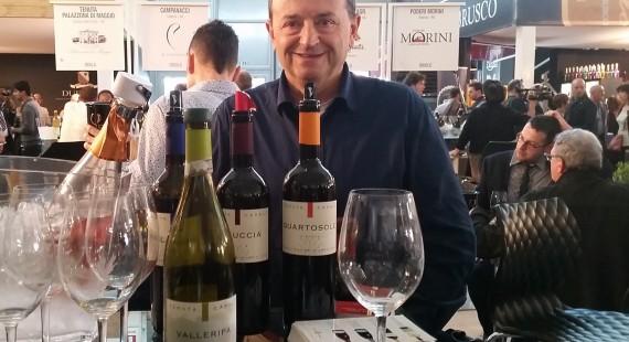 Valerio Casali a Vinitaly 2016