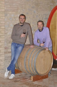 Luca Fabiani (sinistra) e Marco Fabiani (destra)